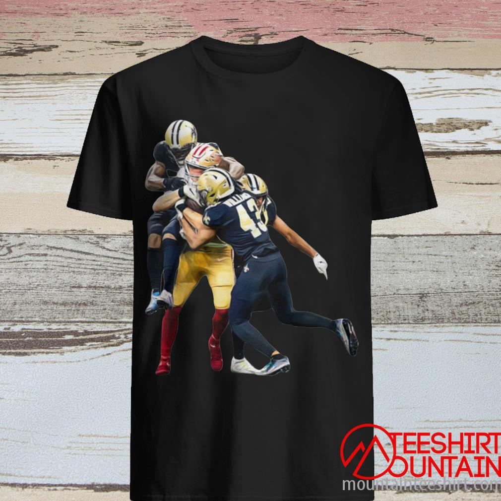 Sprint Football San Francisco 49ers And New Orleans Saints T-Shirt