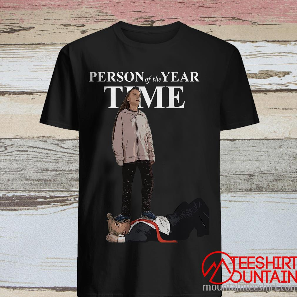 Greta Thunberg Step On Trump Person Of The Year Time Shirt