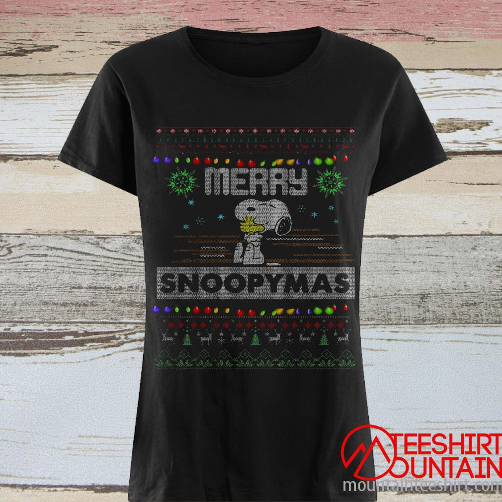 Merry Snoopy's Ugly Christmas Sweater
