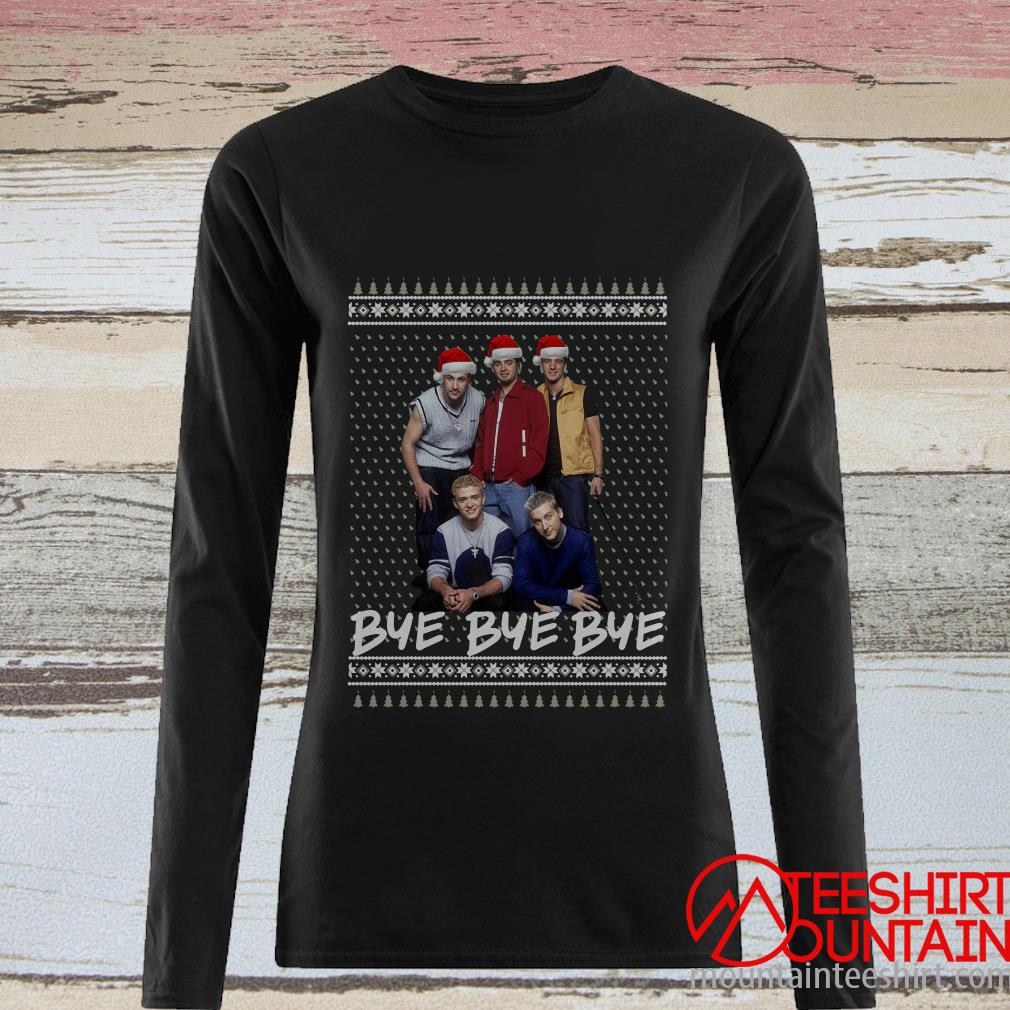 Nsync Bye Bye Bye Ugly Christmas Sweater