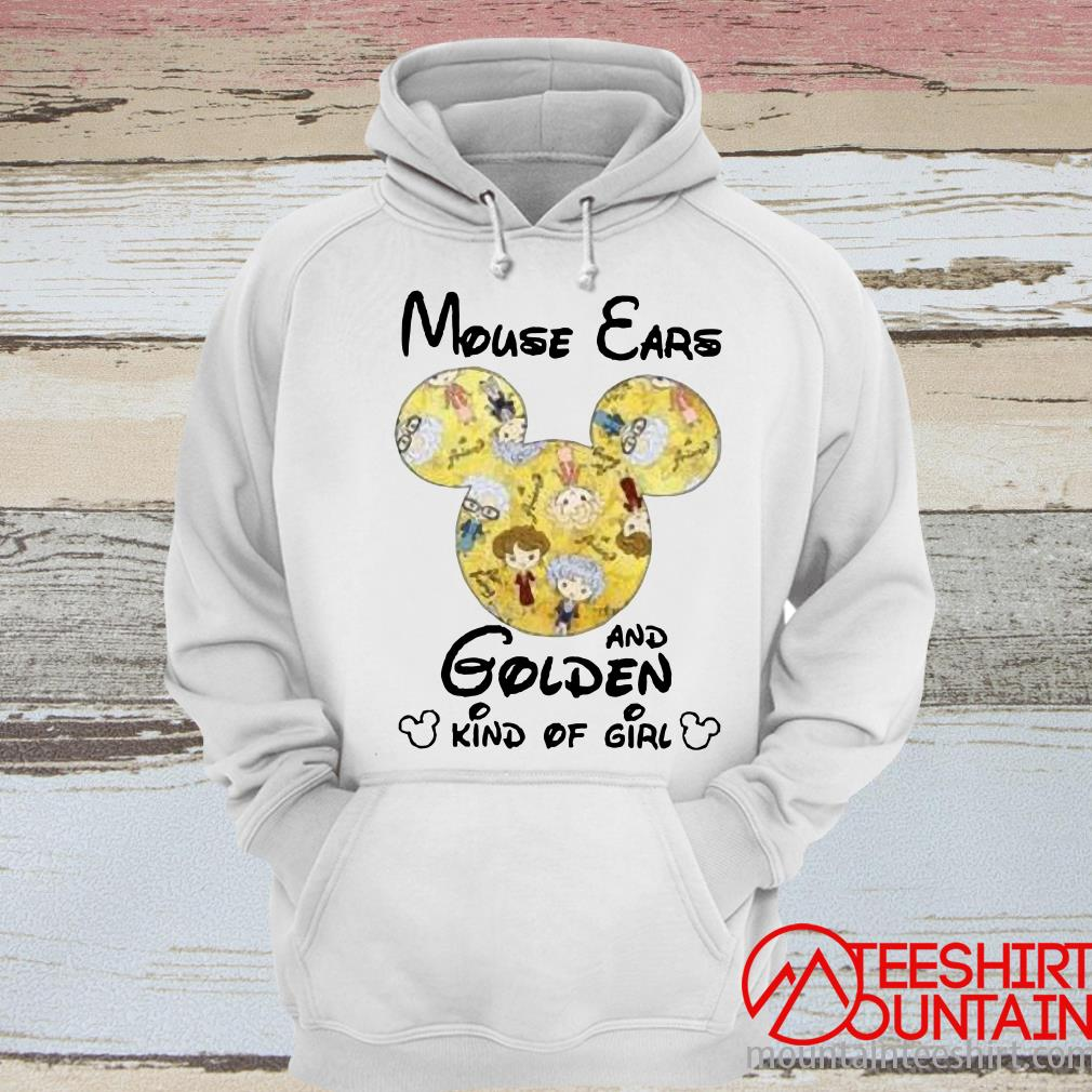 [Sale Off] Mouse Ears And Golden Kind Of Girl Shirt