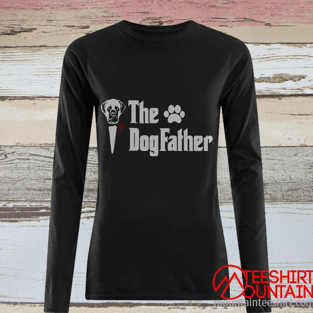 Happy Father's Day Rottweiler The Dogfather T-Shirt