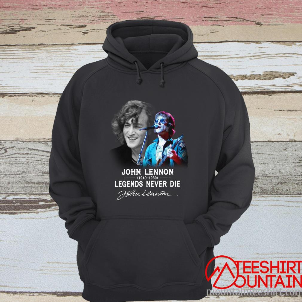 John Lennon 1940 2080 Legends Never Die Signature Shirt