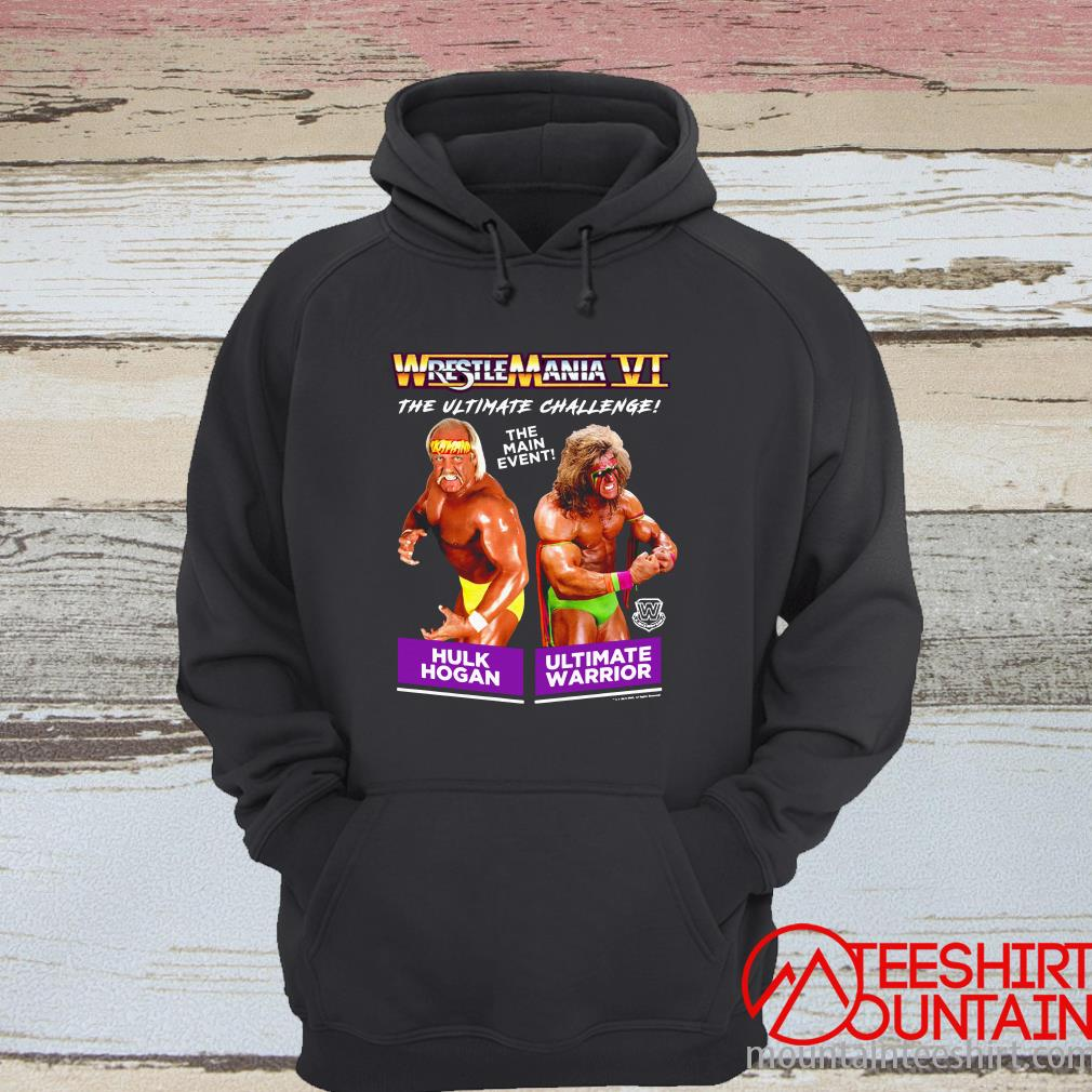 Wrestlemania Vi The Ultimate Challenge The Main Event T-Shirt