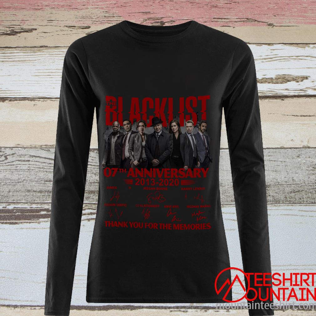 07 Year Of Blacklist Thank You For The Memories T-Shirt
