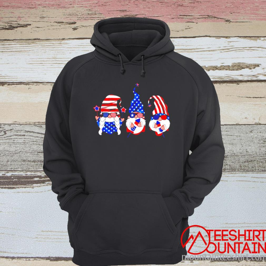 American Gnomes Sunglasses 4th Of July Independence Day Shirt hoodie