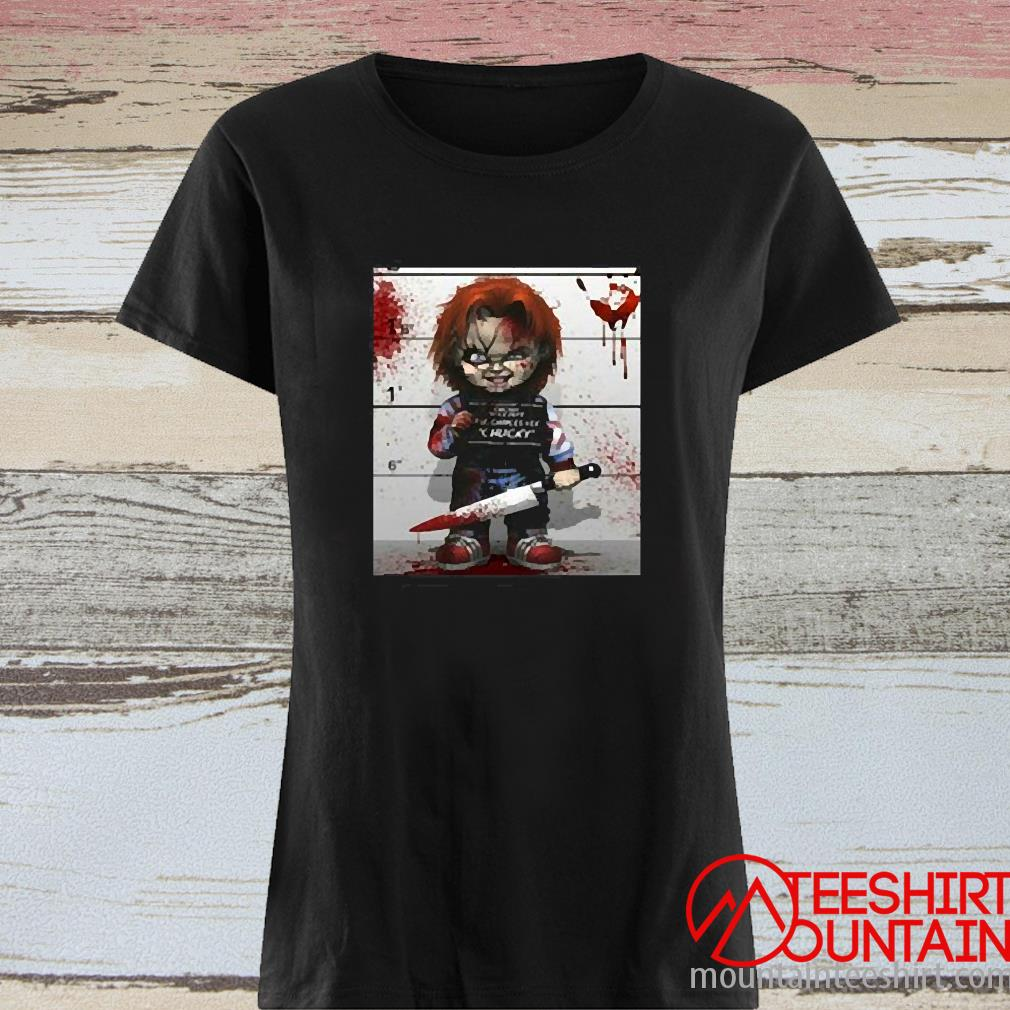 Chucky From Childs Play Shirt ladies tee
