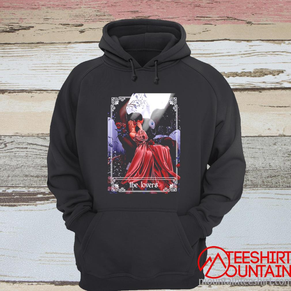 Death And His Lovely Fawn The Lovers Shirt hoodie