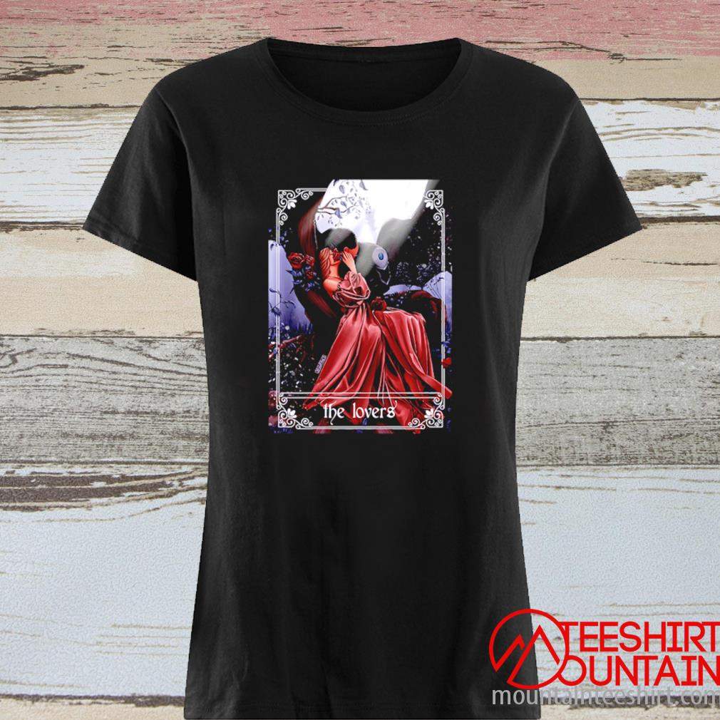 Death And His Lovely Fawn The Lovers Shirt ladies tee