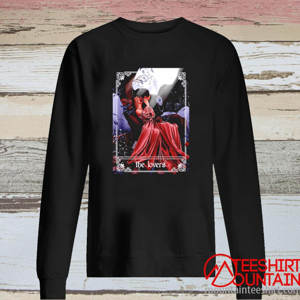 Death And His Lovely Fawn The Lovers Shirt long sleeve