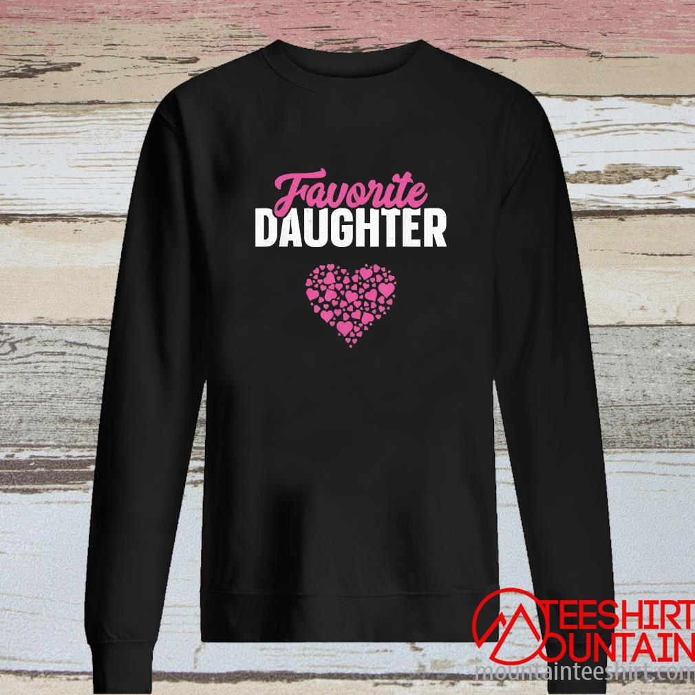 Favorite Daughter Mothers Day Shirt long sleeve