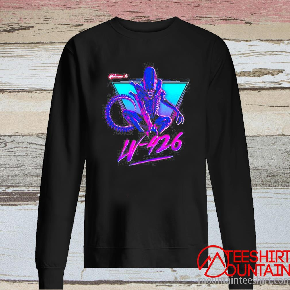 Alien Welcome To Lv-426 Shirt long sleeve